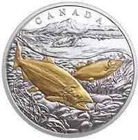 Kanada : 20 Dollar Von Meer zu Meer - Pazifik Lachs  2017 PP