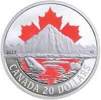 Kanada : 20 Dollar Arktisküste - Canadas Küsten  2017 PP