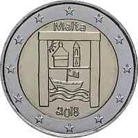 Malta : 2 Euro Kulturelles Erbe  2018 bfr