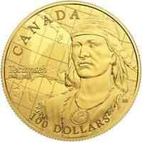 Kanada : 100 Dollar 250. Geb. von Tecumseh - Stammesführer der Shawnee  2018 PP