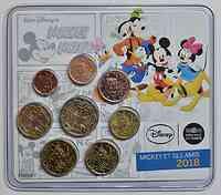 3,88 Euro Mini KMS Mickey 2018 Stgl. Frankreich
