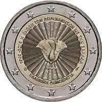 Griechenland : 2 Euro 70. Jahrestag der Vereinigung des Dodekanes mit Griechenland  2018 bfr