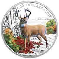 Kanada : 20 Dollar Majestätische Tierwelt - Der Weißwedelhirsch  2018 PP