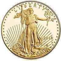 USA : 10 Dollar American Eagle  2018 PP