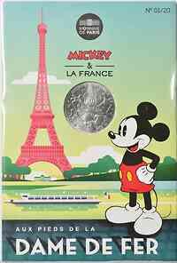 Frankreich : 10 Euro Eiffelturm 1/20  2018 bfr