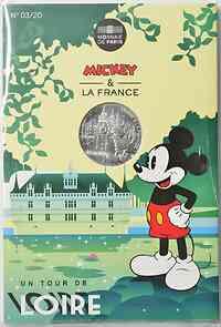 Frankreich : 10 Euro Loire 3/20  2018 bfr