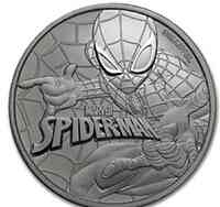 Tuvalu : 1 Dollar Spiderman  2017 Stgl.