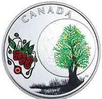 Kanada : 3 Dollar Strawberry Moon - Die 13 Lehren von Grandm. Moon  2018 PP