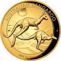 Australien : 100 Dollar Känguru Highrelief 2018 PP