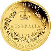 Australien : 50 Dollar Australischer Double Sovereign  2018 PP