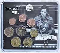 Frankreich : 3,88 Euro Mini KMS Simone Veil  2018 bfr