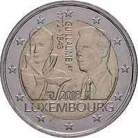 Luxemburg : 2 Euro 175. Todestag von Großherzog Guillaume I.  2018 bfr