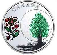 Kanada : 3 Dollar Thimbleberry Moon - Die 13 Lehren von Grandm. Moon  2018 PP
