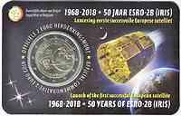 Belgien : 2 Euro ESRO-2B Satellit  2018 Stgl.