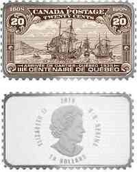 Kanada : 20 Dollar Ankunft von Cartier in Quebec 1535 - 2018 PP
