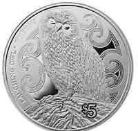 Neuseeland : 10 Dollar Kiwi  2018 PP