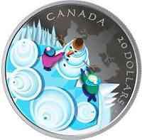Kanada : 20 Dollar Mystischer Wintertag  2019 PP