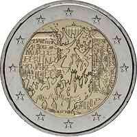 Frankreich : 2 Euro Fall der Berliner Mauer  2019 bfr