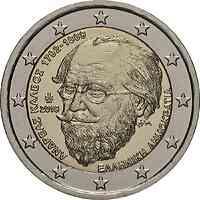 Griechenland : 2 Euro 150. Todestag von Andreas Kalvos  2019 bfr