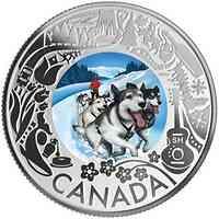 Kanada : 3 Dollar Schlittenhunderennen - Kanadische Feste  2019 PP