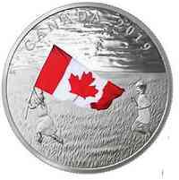 Kanada : 20 Dollar Die Kanadische Flagge  2019 PP