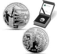 Polen : 10 Zloty 100 Jahre PKO Bank Polski  2019 PP