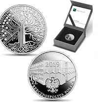 Polen : 10 Zloty 100 Jahre Staatsarchiv Dekret  2019 PP