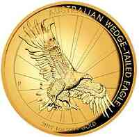 Australien : 100 Dollar Australian Wedge-Tailed Eagle- 1 oz High Relief  2019 PP