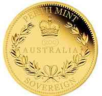Australien : 25 Dollar Australia Sovereign  2019 PP