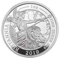 Großbritannien : 2 Pfund Britannia 1 Oz 2019 PP