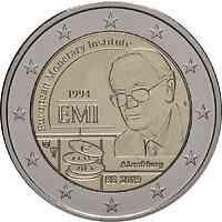 Belgien : 2 Euro 25-jähriges Bestehen des Europäischen Währungsinstituts (EWI)  2019 bfr