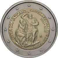 Vatikan : 2 Euro 25. Jahrestag der Restaurierung der Sixtinischen Kapelle  2019 bfr