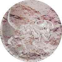 Mongolei : 2000 Tögrög Protoceratops - Fossil 3 oz smartminting  2019 PP