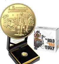 Australien : 10 Dollar The Bold, The Bad & The Ugly - im Etui 2019 PP