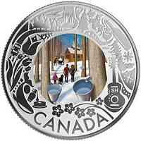 Kanada : 3 Dollar Schlittenhunderennen - Ahronsirupverkostung  2019 PP