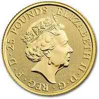 Großbritannien : 25 Pfund The Queen´s Beasts - Yale 2019 Stgl.