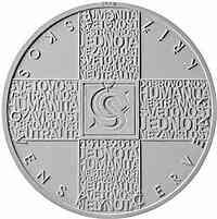 Tschechische Republik : 200 Kronen 100 Jahre Tschechisches Rotes Kreuz  2019 PP