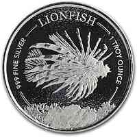 Barbados : 1 Dollar Feuerfisch 1 oz 2019 Stgl.