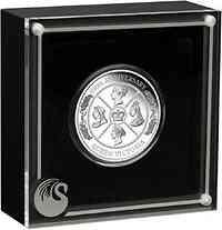 Australien : 1 Dollar 200. Geburtstag Queen Victoria   1 oz  2019 PP