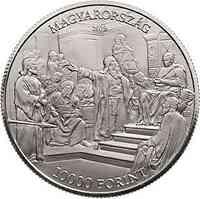 Ungarn : 10000 Forint 175. Geburtstag Mihaly Munkacsy (Maler)  2019 PP