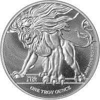 Niue : 2 Dollar Brüllender Löwe von Judah 1 oz  2019 Stgl.