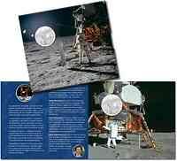 Schweiz : 20 sfr 50 Jahre Mondlandung Apollo 11 im Folder 2019 Stgl.