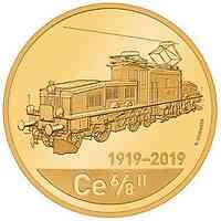Schweiz : 50 sfr 100 Jahre Krokodil-Lokomotive  2019 PP