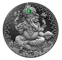 Kamerun : 2000 Franc World Cultures - Ganesha  2019 Stgl.