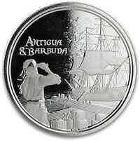 Antigua und Barbuda : 2 Dollar Rum Runner (Schmuggler-Schiff) 2019 Stgl.