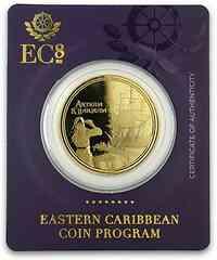 Antigua und Barbuda : 10 Dollar Rum Runner (Schmuggler-Schiff) 2019 Stgl.