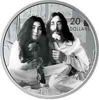 Kanada : 20 Dollar Give Peace a Chance - John Lennon & Yoko Ono  2019 PP