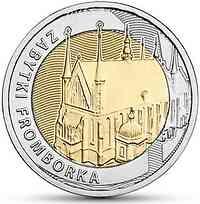 Polen : 5 Zloty Entdecke Polen #9 - Denkmäler von Frauenburg  2019 PP
