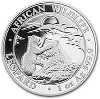 Somalia : 100 Sh Leopard 2019 Stgl.