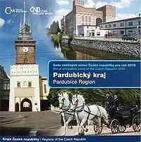 Tschechische Republik : 88,00 Kronen Kurssatz - Region Pardubice  2019 Stgl.